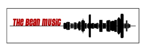 Bean Music logo, design by Sandy Kane