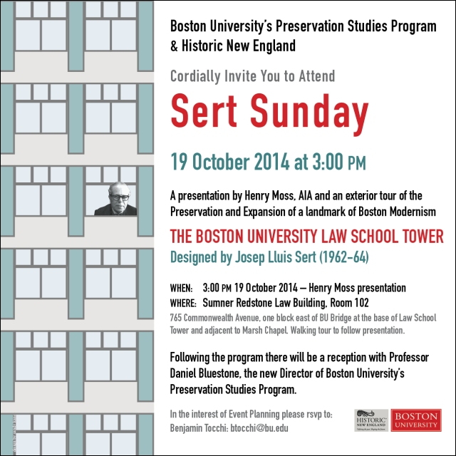 Poster designed for Boston University