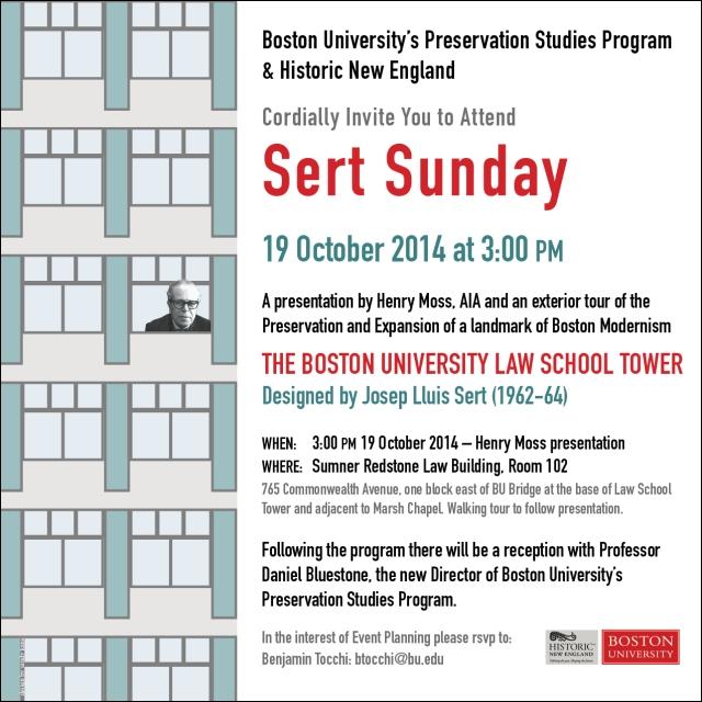 Poster designed for Boston University