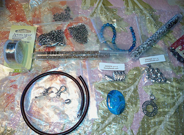 Goody Beads selected the materials for the challenge